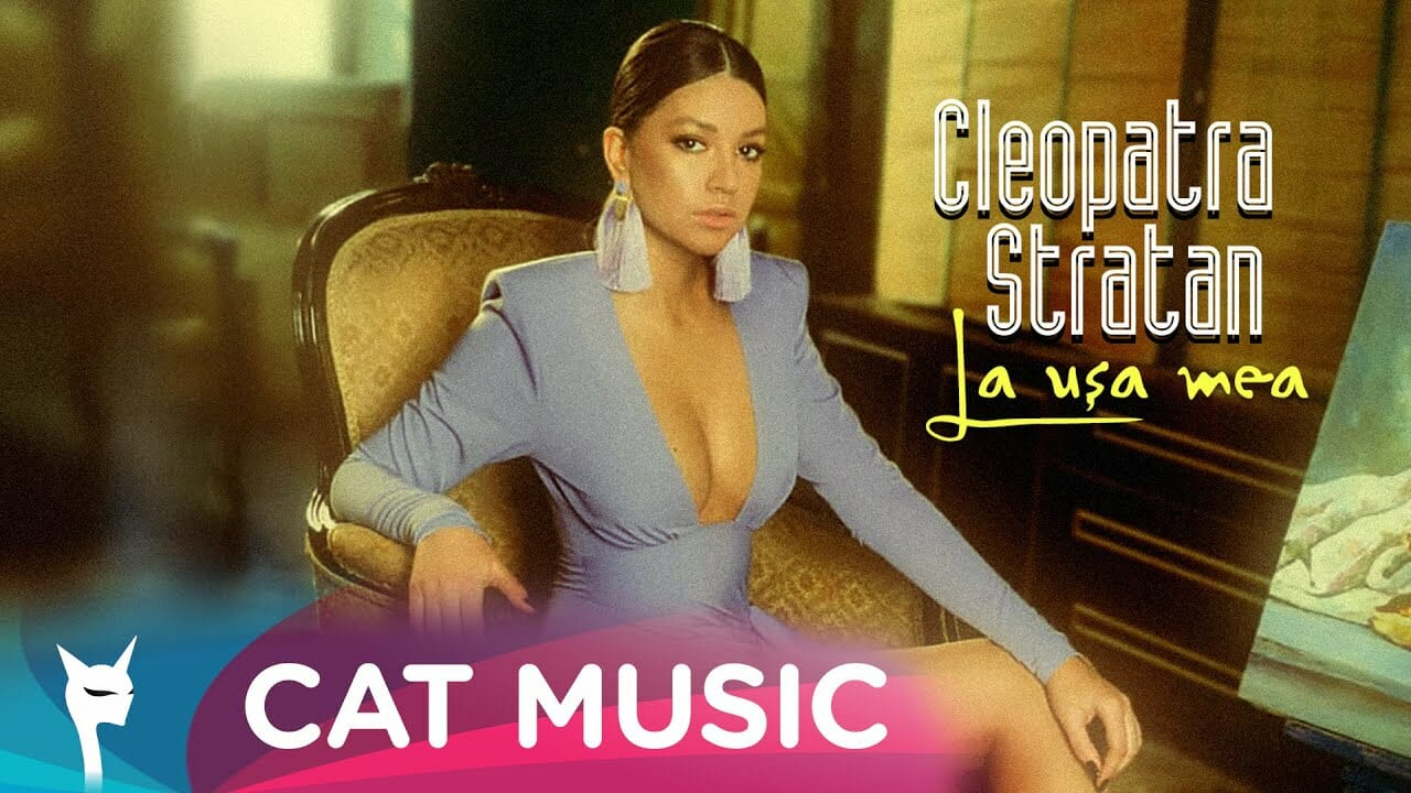 Cleopatra Stratan La usa mea Official Video